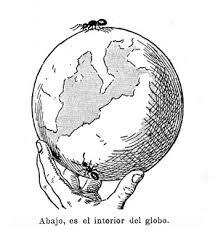 Hormiga alrededor de la tierra