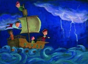 Barco en tormenta 1