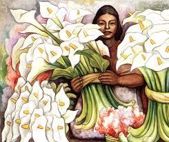 Vendedora de flores 1