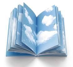 libreta paginas de nubes