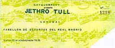 Jethro Tull 1974-10-25 Madrid 2
