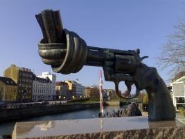 No violencia revólver