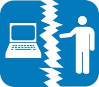 brecha separación humano y ordenador