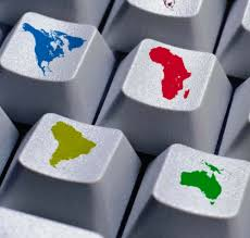 teclado continentes