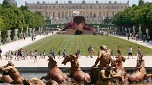 Versalles Jardín y palacio - desde escultura