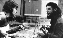Lenon y Che guevara tocando juntos