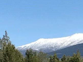 Montaña retocada