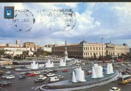 Pza Colón 1979 postal retocada