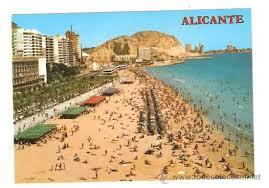 Alicante postal años 70