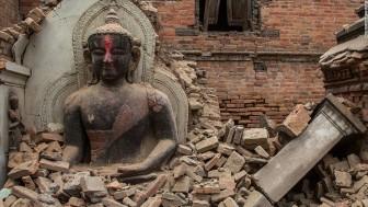 Buda escombros