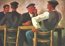 Vascos en bar