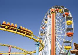 Roller coaster y noria