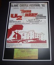 Poster Slane CAstle 1981 Thin Lizzy