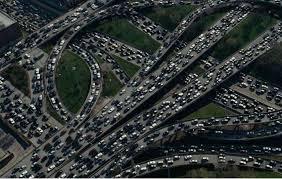 Atasco autopista 1