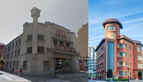 Alsa y edificio rojo