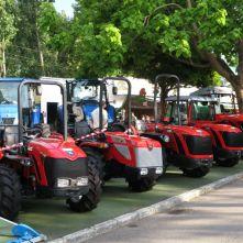 Tractores en la feeia