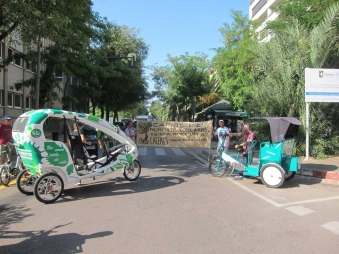 rickshaws Madrid