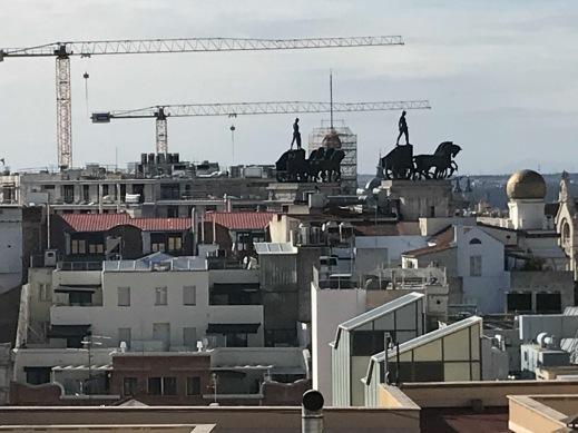 Madrid panorámica cuadrigas