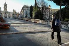 Calles vacías Italia