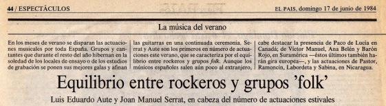 Entgre rockeros y grupos folk