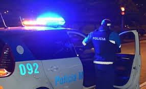 Policía noche