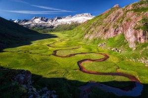 VAlle , río y montaña
